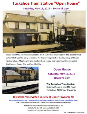 Train Station Open House May 13, 2017